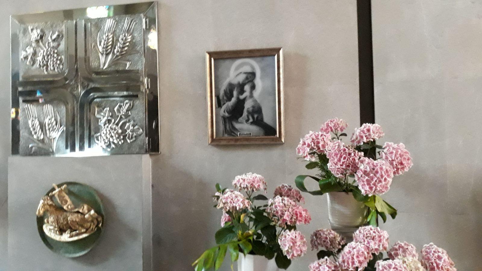 La Virgen Peregrina queda acompañando a los Kairós de San Félix