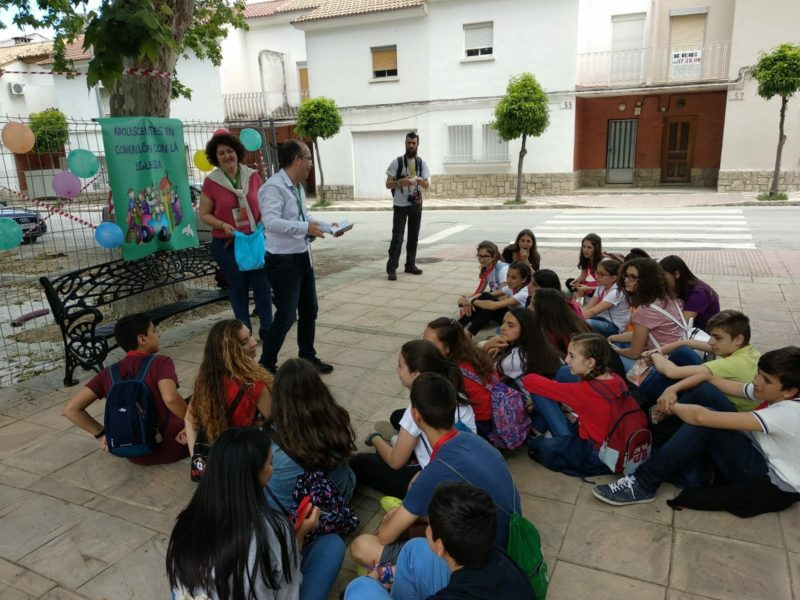 Catequesis en la calle